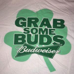 Grab Some Buds Tee ☘️ 🍻